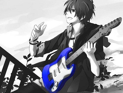 Гитара арт аниме